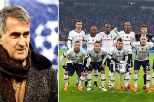 Beşiktaş'tan Devler Liginde Şanssız Mağlubiyet