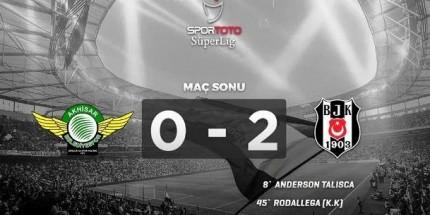 Beşiktaş,  Ligde de Yoluna Devam Ediyor