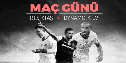 Beşiktaş, Dinamo Kiev'i Ağırlıyor