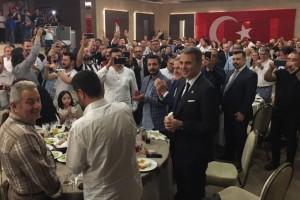 Başkan Fikret Orman, Ordulu Beşiktaşlılarla İftarda Buluştu