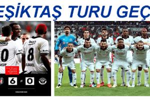 Beşiktaş, Turu Farklı Geçti