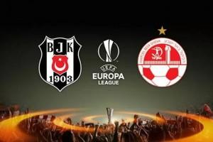 Beşiktaş, UEFA Avrupa Ligi'nde Turladı