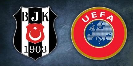 Beşiktaş'ın UEFA Avrupa Ligi Kadrosu Belli Oldu