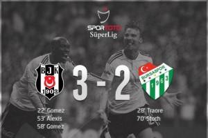 Beşiktaş 3 - Bursaspor 2
