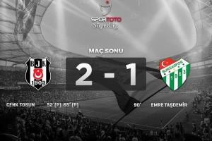 Beşiktaş Zirveye Ortak Oldu