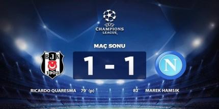 Beşiktaş Galibiyeti Kaçırdı