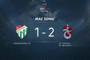 Trabzonspor'dan İyi Başlangıç
