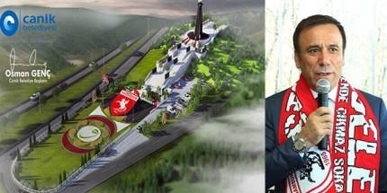 Başkan Genç, Samsunspor Anıtı Tanıttı