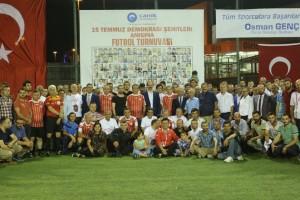 Canik'te, 15 Temmuz Şehitleri Anısına Futbol Turnuvası