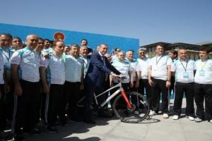 Cumhurbaşkanlığı Bisiklet Turnuvası Basın Turu Yapıldı