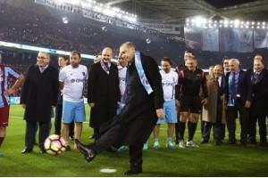 Trabzonspor'un Yeni Stadının Açılışı Yapıldı