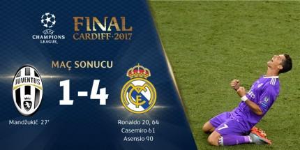 Devler Ligi'nin Şampiyonu Real Madrid