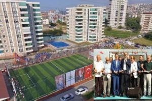 Derebahçe Spor Kompleksi Coşkulu Bir Törenle Açıldı