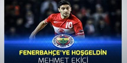 Fenerbahçe Mehmet Ekici'yi Açıkladı