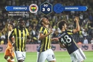 Fenerbahçe'den Avantajlı Skor