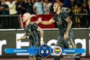 Fenerbahçe UEFA Avrupa Ligi'nde Adını Gruplara Yazdırdı