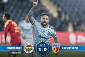 Kupada İlk Çeyrek Finalist Fenerbahçe