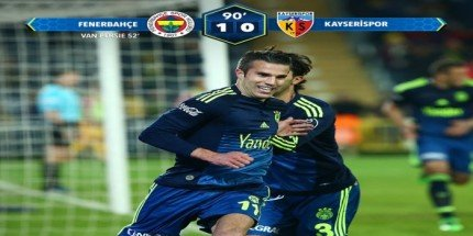 Fenerbahçe 1 Kayserispor 0