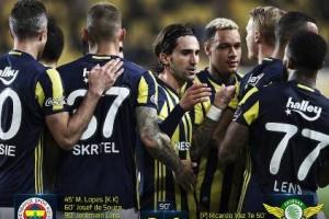 Fenerbahçe Akhisar Belediyespor'u 3 Golle Geçti