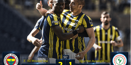 Fenerbahçe Moussa Sow İle Kazandı