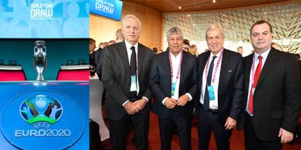 UEFA EURO 2020 Elemeleri Kuraları Çekildi