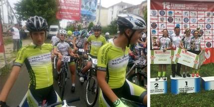 Yeşilgiresun Belediyespor Bisiklet Takımından Bir Başarı Daha