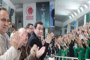 """Başkan Aksu; """" Türk Basketboluna Katkı Sağlıyoruz """""""