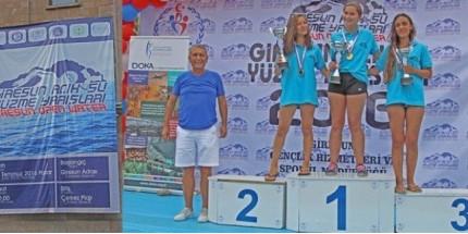 Giresun  Açık Su Yüzme Yarışları Başladı
