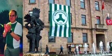 Başkan Aksu'dan Giresunspor Bayrağı Asma Çağrısı