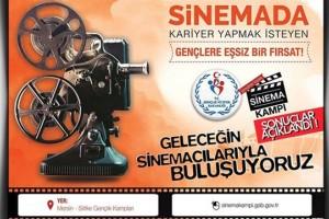 Sinema Kampı Başvuru Sonuçları Yayımlandı