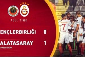 Galatasaray, 3 Puanı Bruma İle Aldı