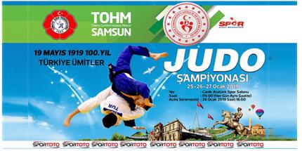 Ümitler Türkiye Judo Şampiyonası Samsun'da Yapılacak