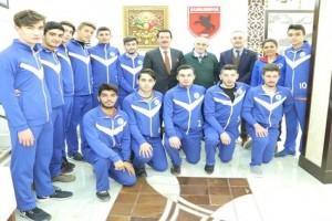 Başkan Tok Başarılı Sporcuları Makamında Ağırladı