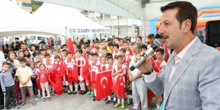 Anadolu Mahallesi Spor Kompleksine Kavuştu