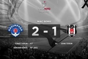 Beşiktaş İlk Yenilgisini Aldı