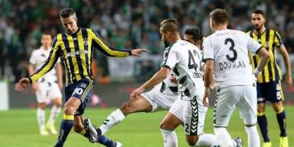 Fenerbahçe Konya'dan İstediğini Aldı