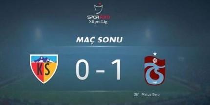 Trabzonspor 4 Haftalık Galibiyet Hasretini Bitirdi