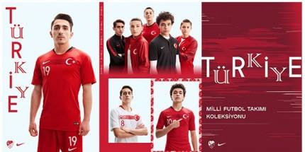 NIKE Türk Milli Takımı'nın Yeni Formasını Tanıttı
