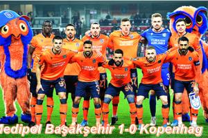 Medipol Başakşehir'den Sevindiren Galibiyet