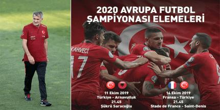 Arnavutluk ve Fransa Maçları Aday Kadrosu Açıklandı