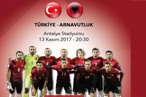 Arnavutluk Maçı Hazırlıkları Başladı