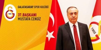 Galatasaray'ın 37. Başkanı Mustafa Cengiz