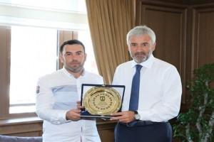 Fatsa Belediyespor'dan Başkan Yılmaz'a Ziyaret