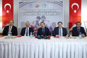 Türkiye Büyük Erkekler Serbest Güreş Şampiyonası Ordu'da Yapılacak