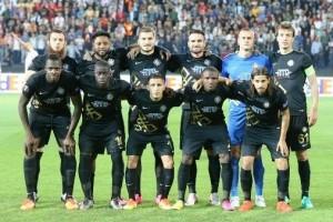 Osmanlıspor UEFA Avrupa Liginde İlerliyor