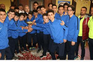 Şampiyonlar Başkan Kasap'ı Ziyaret Etti
