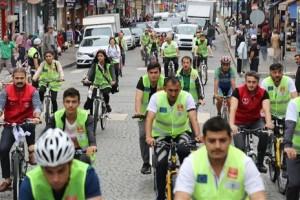 Avrupa Hareketlilik Haftası Kapsamında Rize'de Bisiklet Turu Düzenlendi