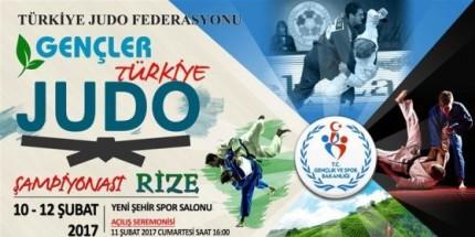 Rize'de Gençler Türkiye Judo Şampiyonası