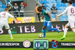 Karadeniz Derbisinin Galibi Trabzonspor