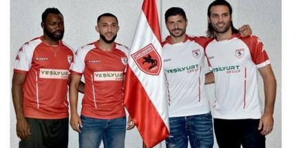 Samsunspor'da 4 Yeni Transfer